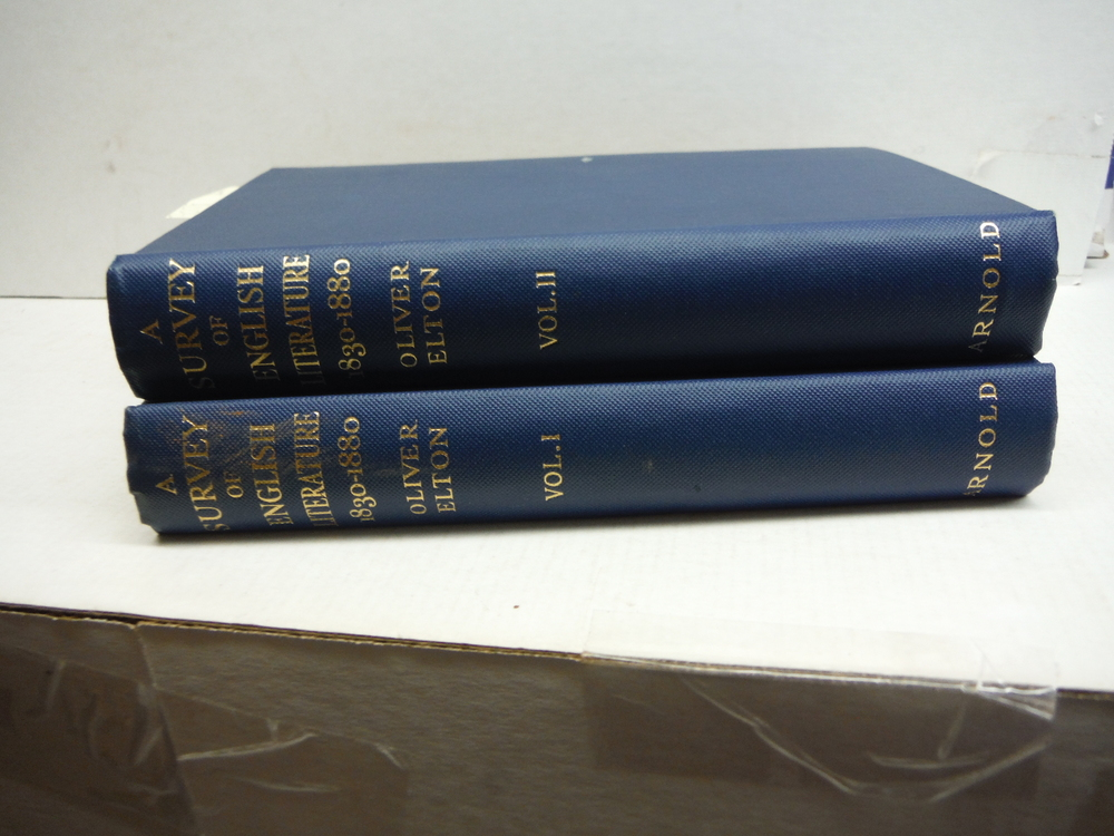A Survey of English Literature 1830 - 1880 in Two Volumes