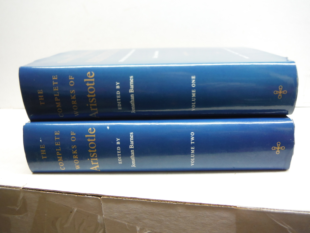 The Complete Works of Aristotle: The Revised Oxford Translation (Bollingen Serie