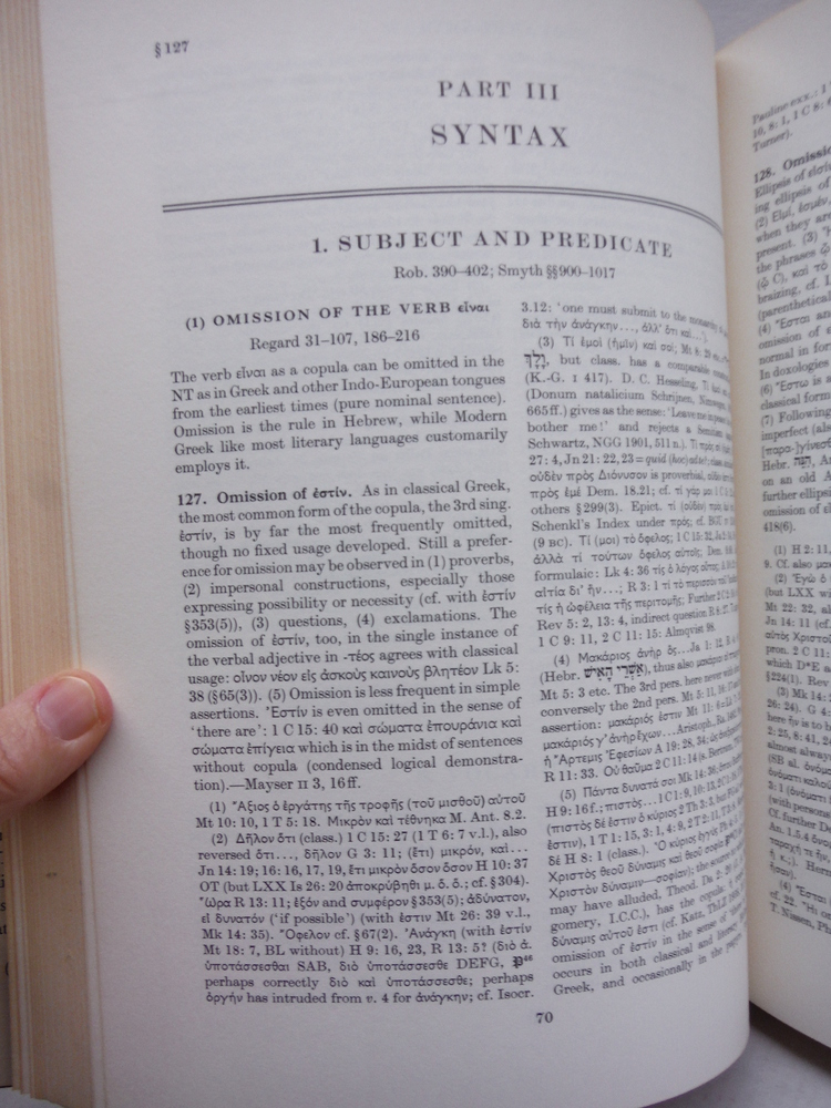 Image 2 of A Greek Grammar of the New Testament and Other Early Christian Literature