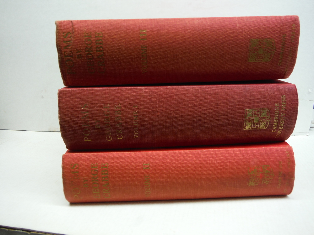 George Crabbe Poems in Three Volumes