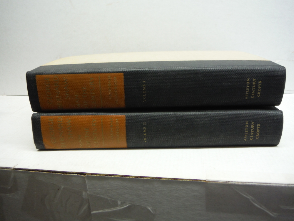 George Bernard Shaw: Man of the Century 2 Vols. deLuxe