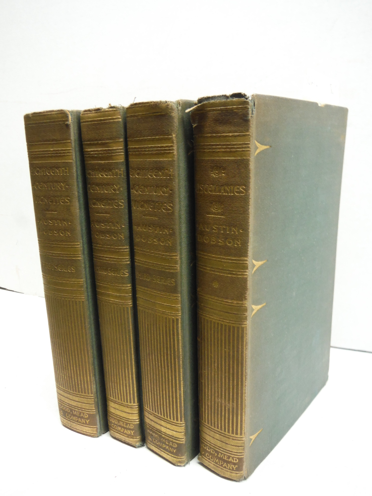Eithteenth Century Vignettes First, Second, Third Series and Miscellaneous (4 Vo