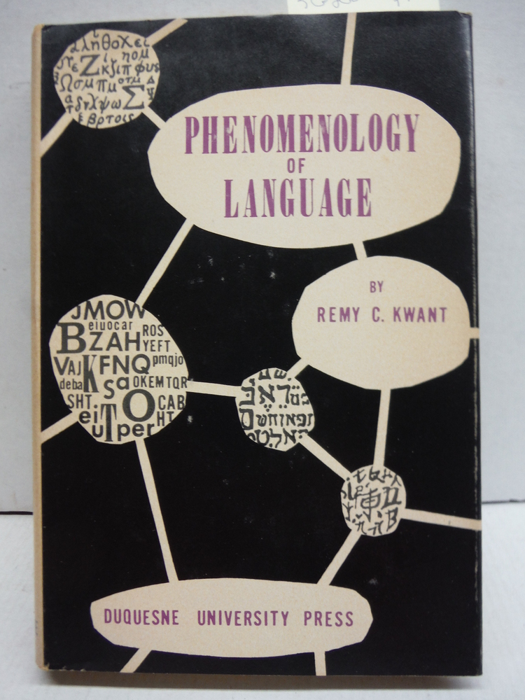 Image 0 of Phenomenology of language,