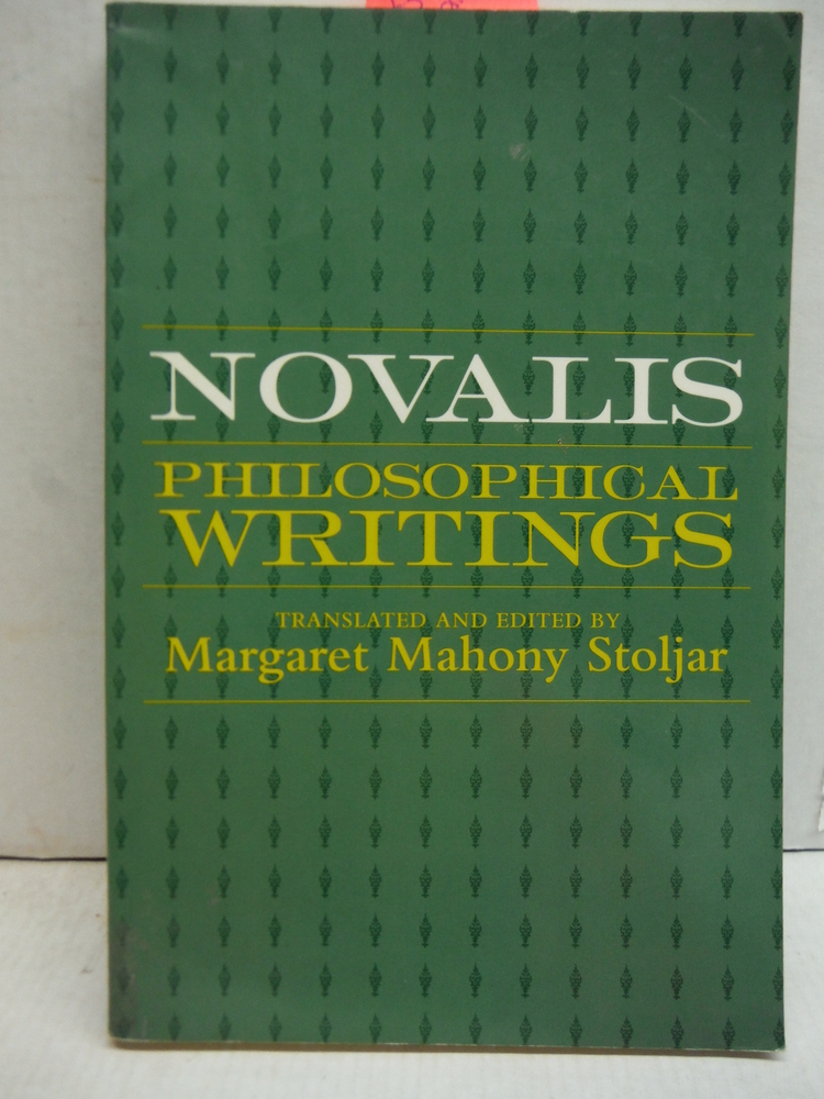 Novalis: Philosophical Writings