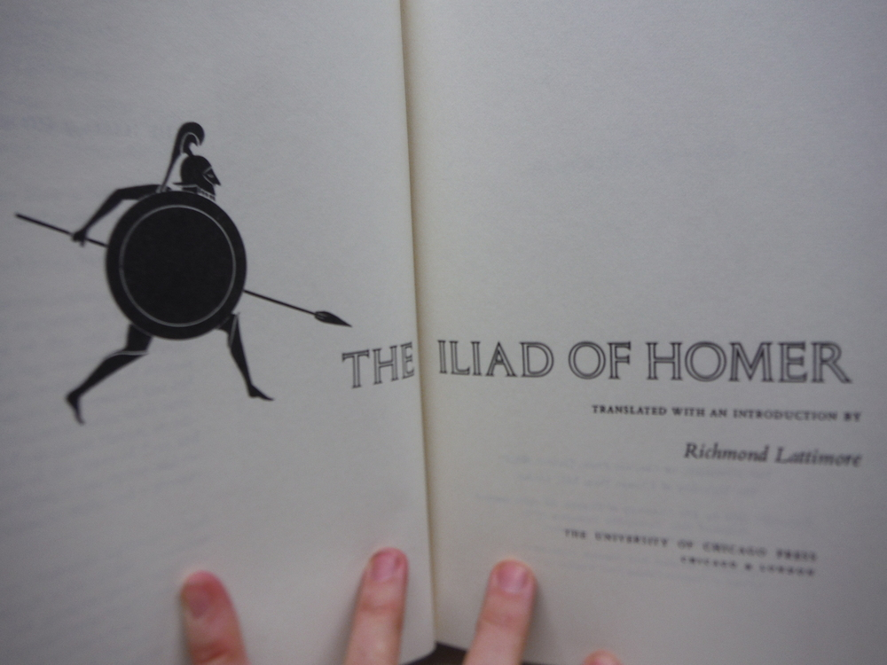 Image 1 of The Iliad of Homer