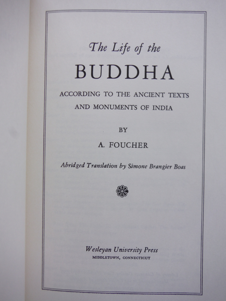 Image 1 of Life of the Buddha, According to the Ancient Texts and Monuments of India