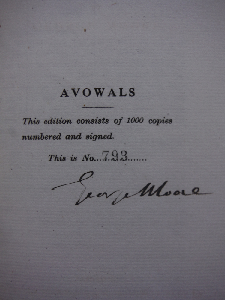 Image 2 of Avowals