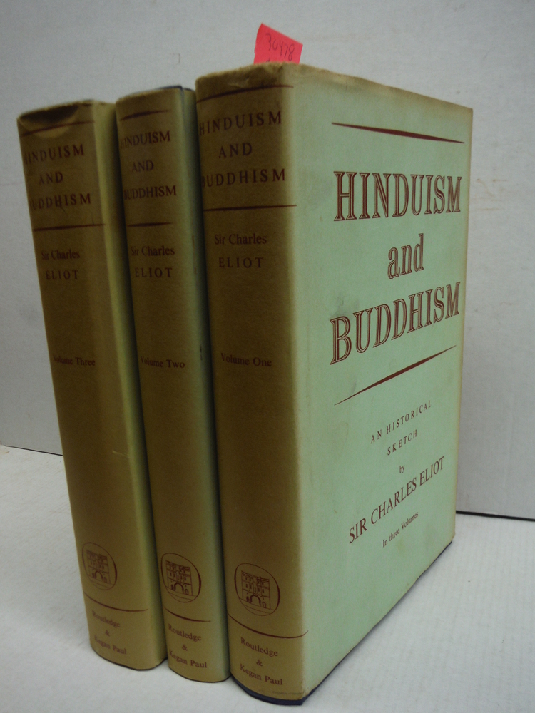 Hinduism and Buddhism: An Historical Sketch (3 Volume Set)