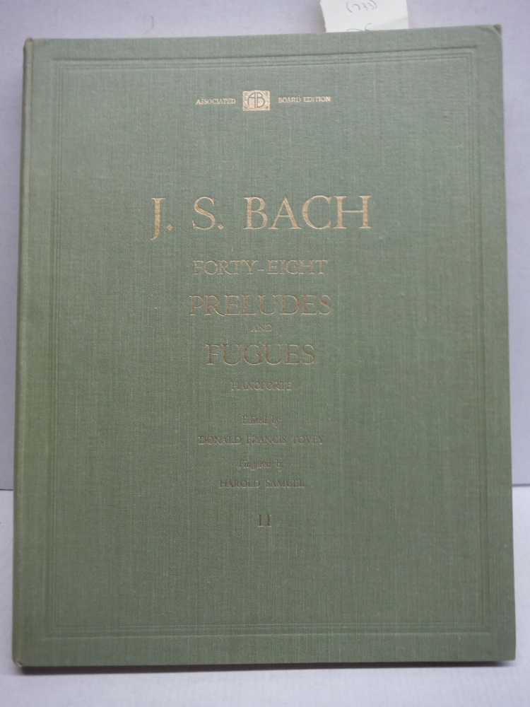 Image 0 of J. S. Bach Forty-eight Preludes & Fugues Book 1