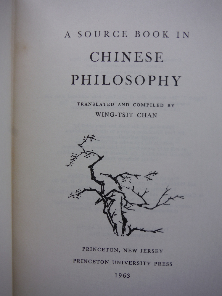 Image 1 of A Source Book in Chinese Philosophy