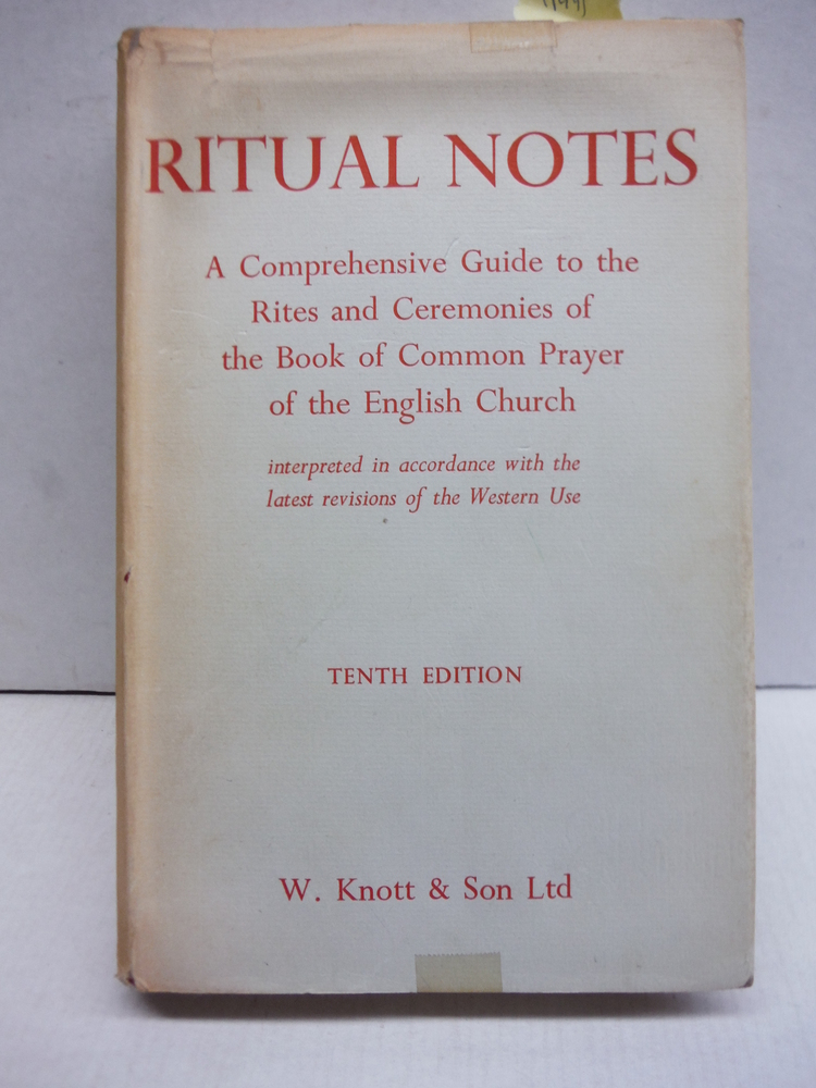 Anglican Services: A book concerning ritual and ceremonial in the Church of Engl
