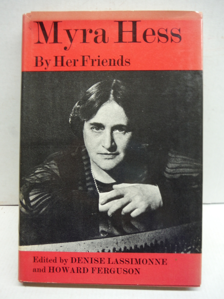 1966 MYRA HESS PIANO PRODIGY MUSIC BIOGRAPHY BY HER FRIENDS UK ILLUSTRATED DJ