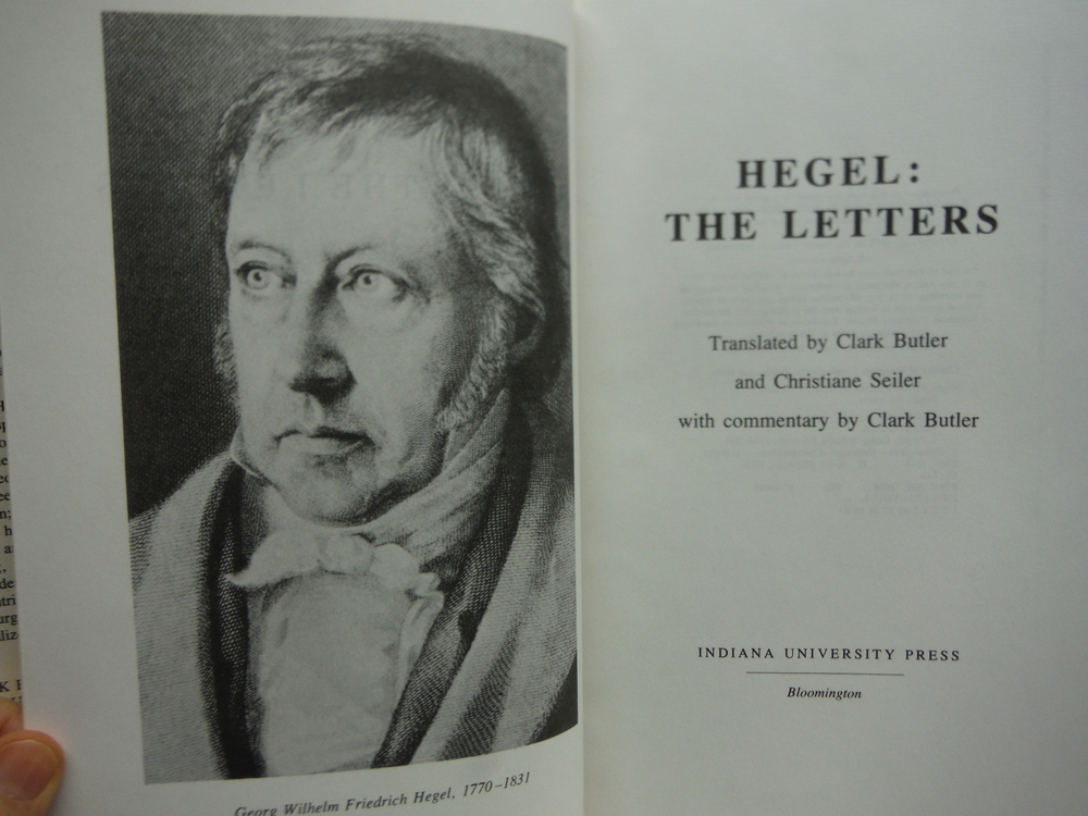 Image 1 of Hegel: The Letters