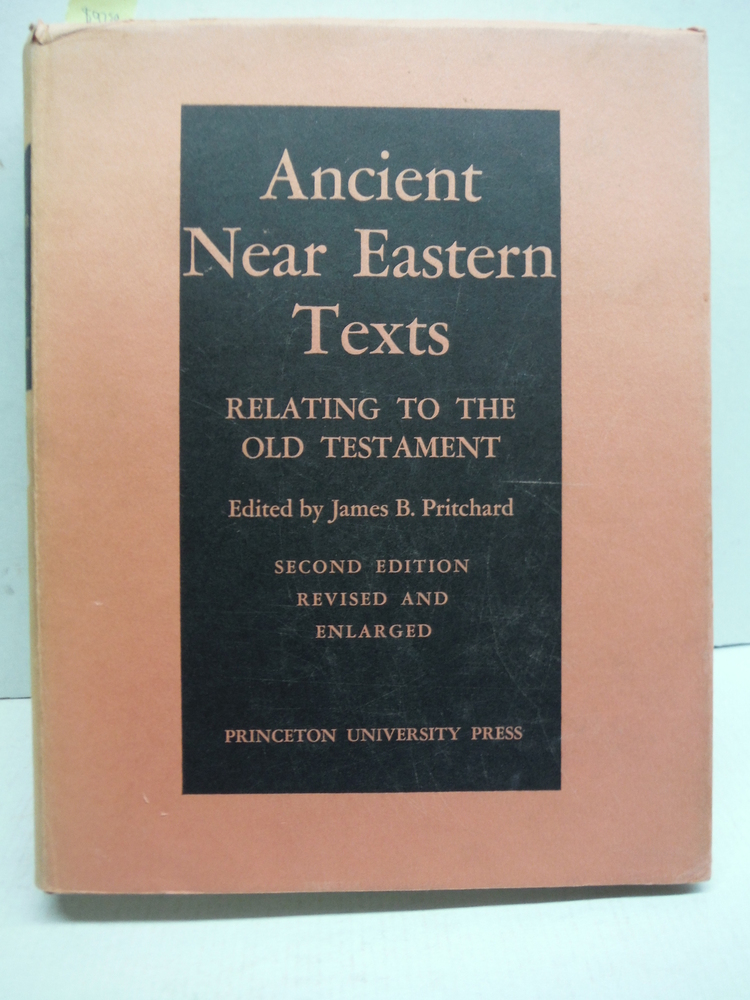 Ancient Near Eastern Texts Relating to the Old Testament