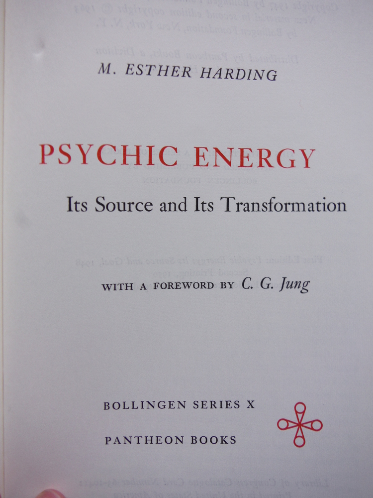 Image 1 of Psychic energy: Its source and its transformation (Bollingen series)
