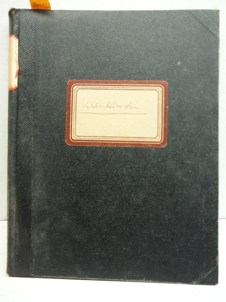 Felix Mendelssohn Bartholdy's Sasmmtliche Werke Compositionen fur Pianoforte sol