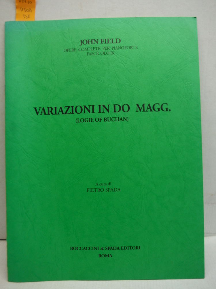 Variazioni in Do magg. (Logie of Buchan)