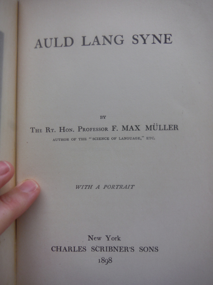 Image 1 of Auld Lang Syne