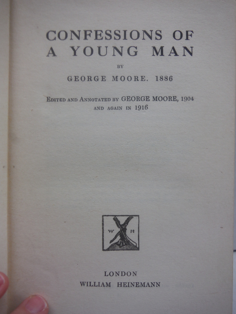 Image 1 of Confessions of a Young Man