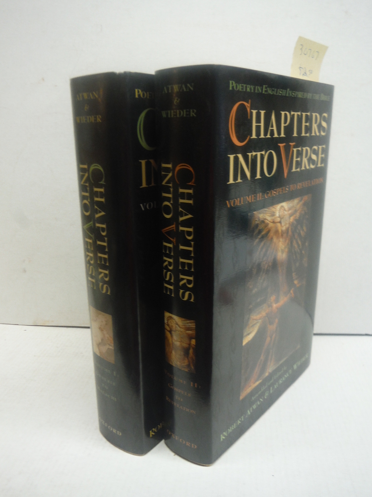 Chapters into Verse: Poetry in English Inspired by the Bible 2-Volume Set