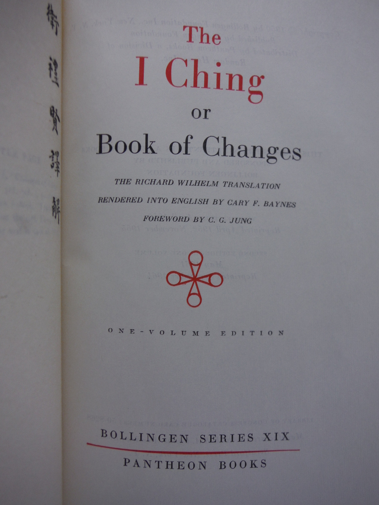 Image 1 of The I Ching or Book of Changes