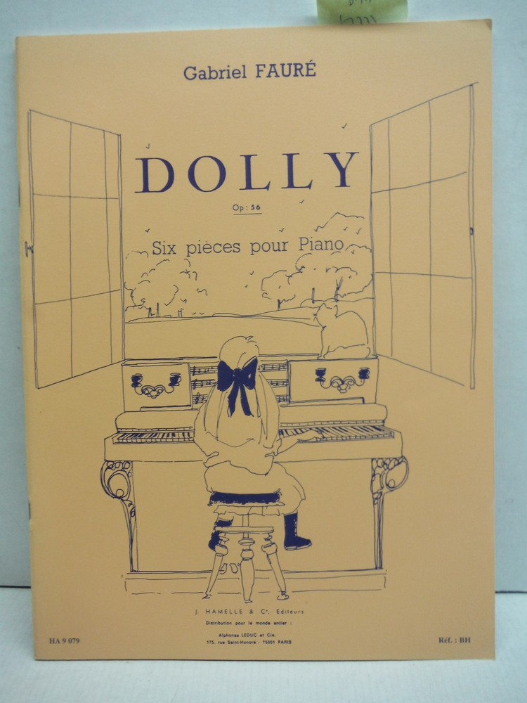 Dolly Op: 56 Six pieces pour Piano
