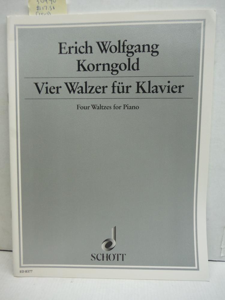 Four Waltzes Piano