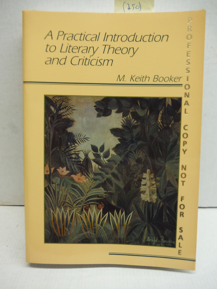Image 0 of A Practical Introduction to Literary Theory and Criticism
