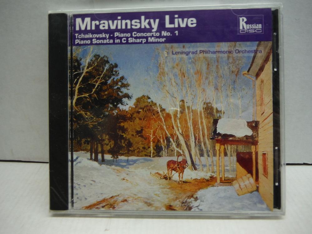 Mravinsky Live! - Tchaikovsky: Piano Concerto No. 1, for piano & orchestra in B