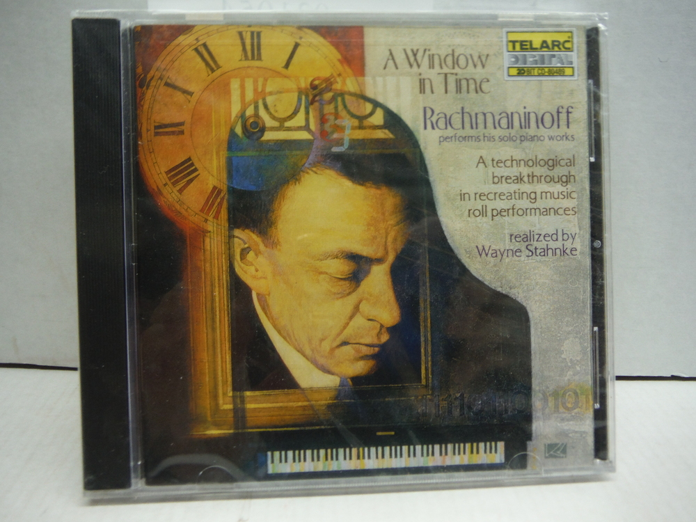 Image 0 of A Window in Time: Rachmaninoff Performs His Solo Piano Works