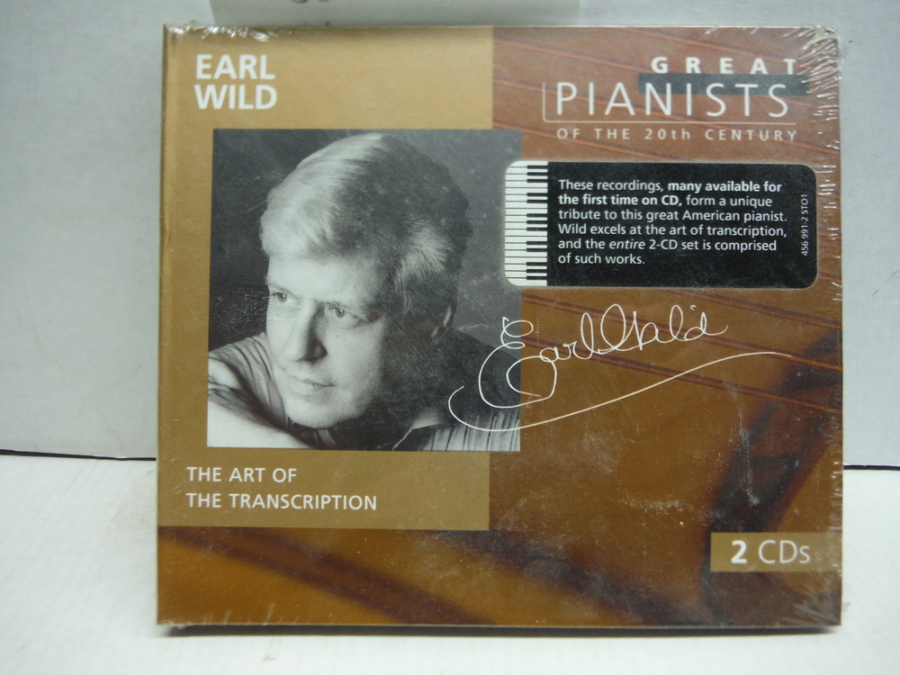 Great Pianists of the 20th Century - Earl Wild ~ The Art of the Transcription