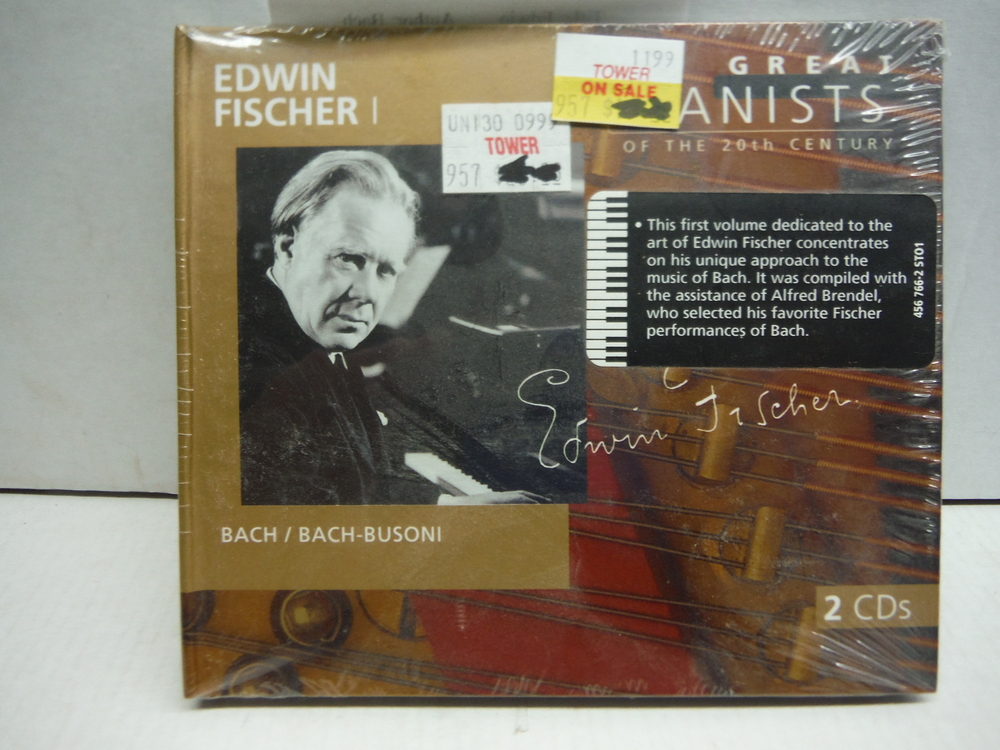 Edwin Fischer: Great Pianists of 20th Century, Vol. 25
