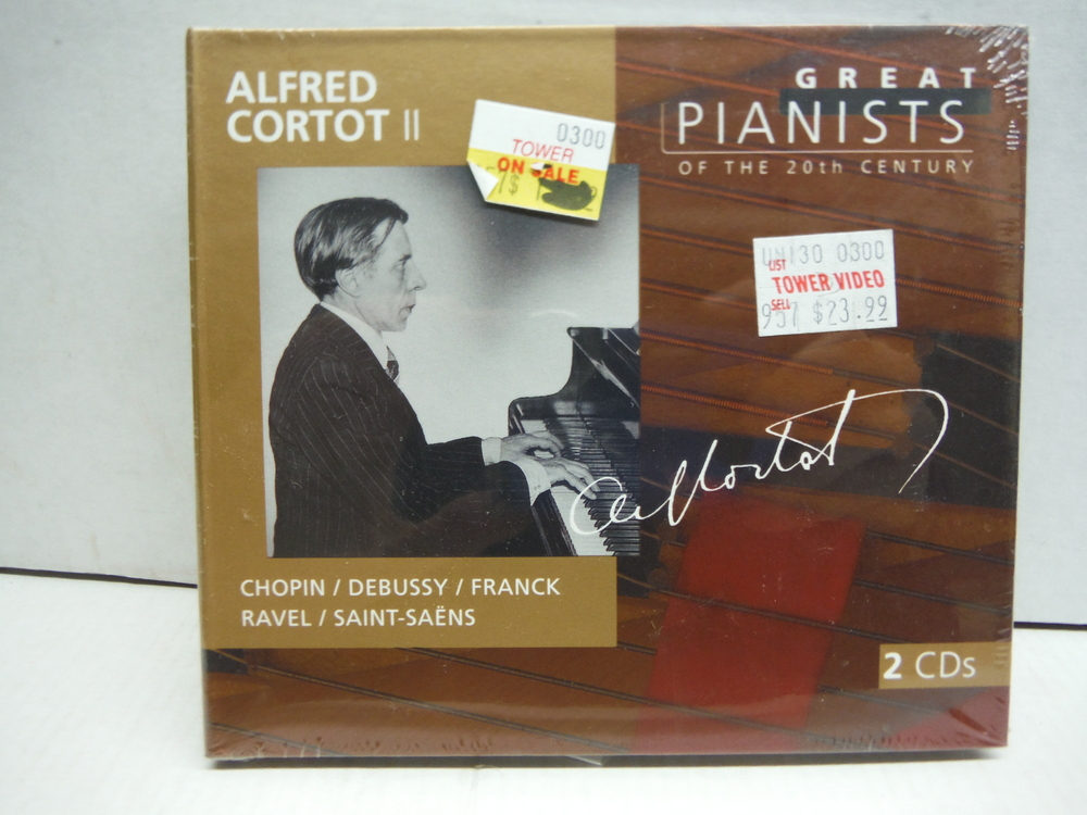 Image 0 of Alfred Cortot, Vol 2: Great Pianists of the 20th Century