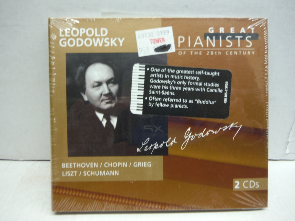 Leopold Godowsky (Great Pianists of the 20th Century, Vol. 38)