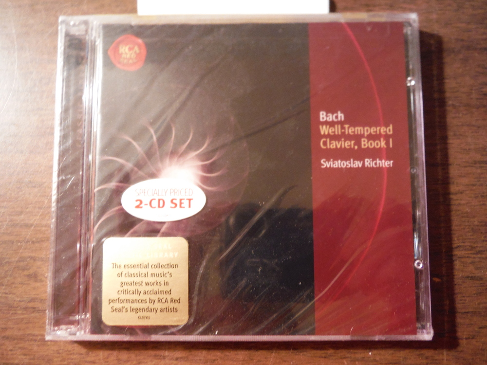 Image 0 of Bach: The Well Tempered Clavier, Book 1