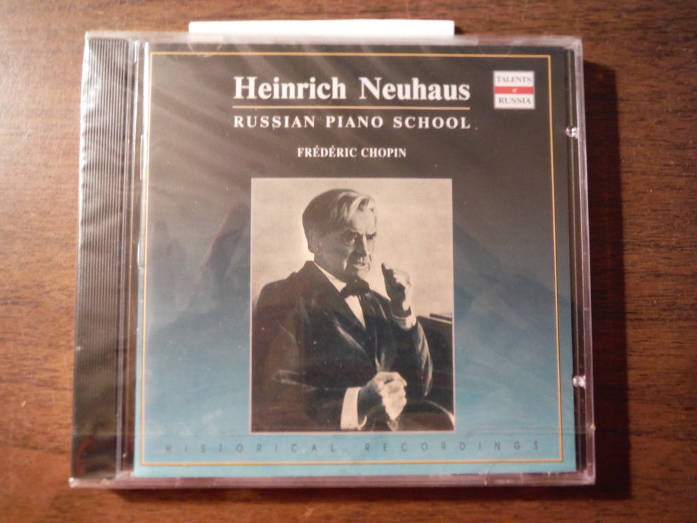 Image 0 of Neuhaus Plays Chopin: Mazurkas / Barcarolle