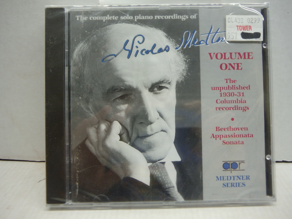 Medtner: The Complete Solo Piano Recordings Vol. 1