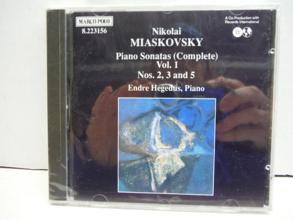Miaskovsky: Piano Sonatas, Vol.1