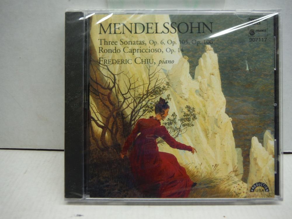 Mendelssohn: 3 Piano Sonatas