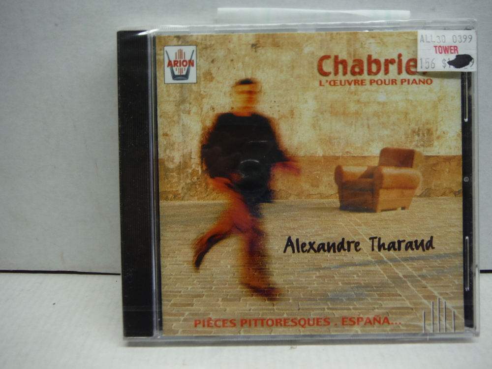 Image 0 of Alexandre Tharaud ~ Chabrier - L'Oeuvre pour piano (Pièces pittoresque · Espan