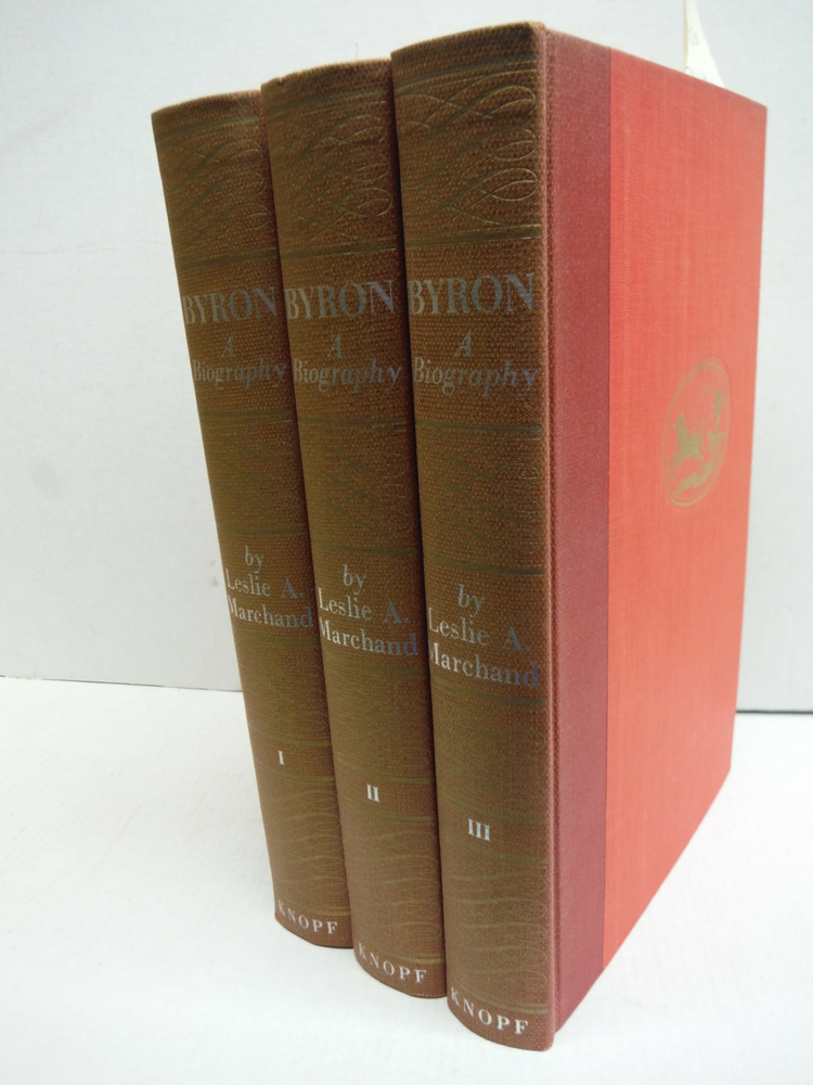 Byron a Biography 3 Volumes