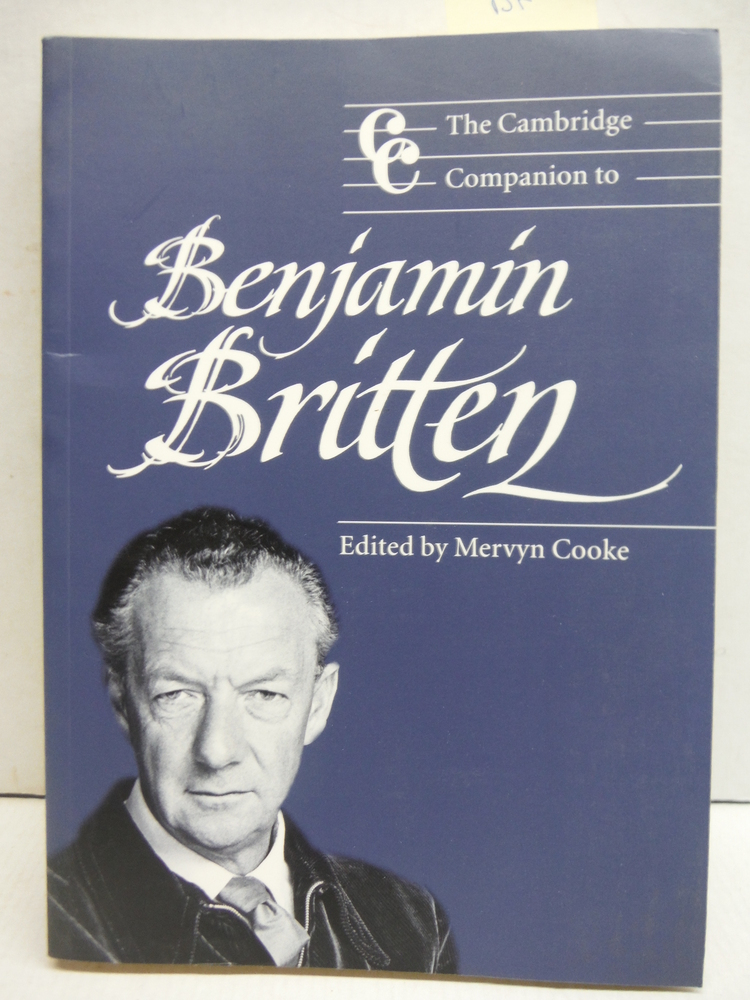Camb Companion to Benjamin Britten (Cambridge Companions to Music)