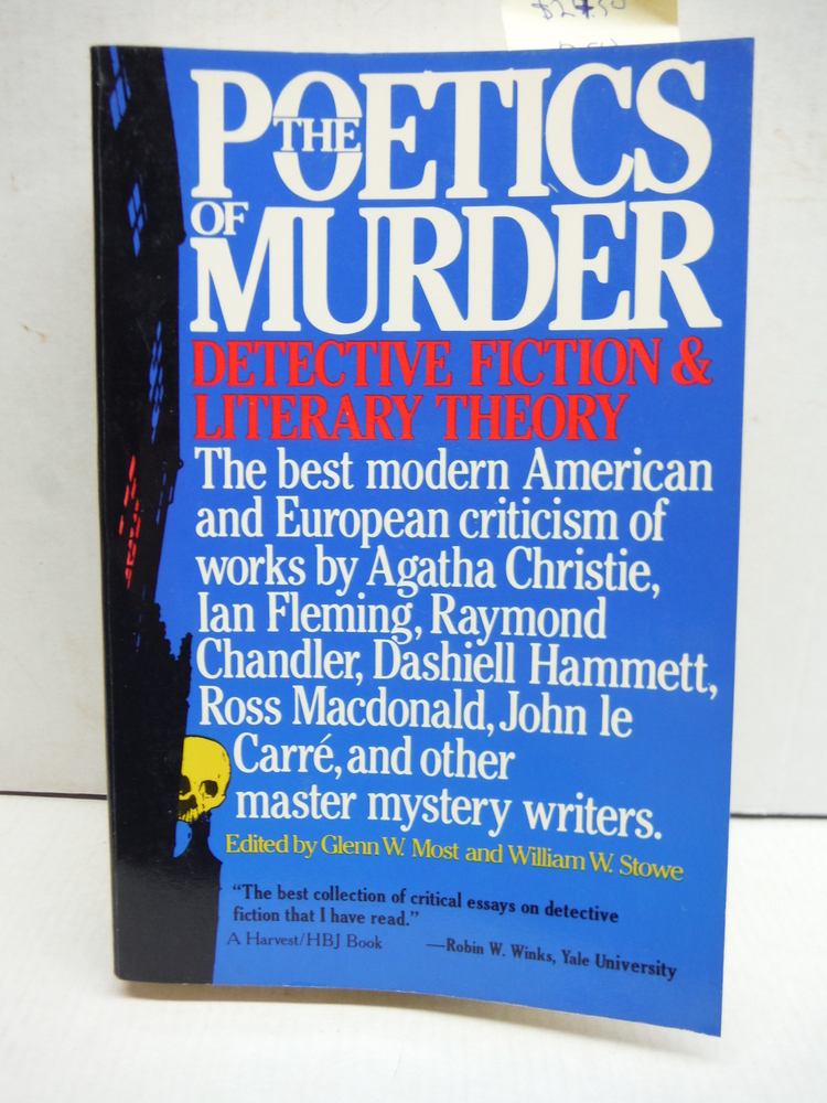 The Poetics of Murder: Detective Fiction and Literary Theory