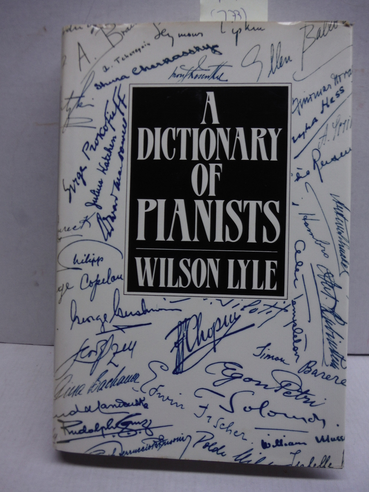 A Dictionary of Pianists