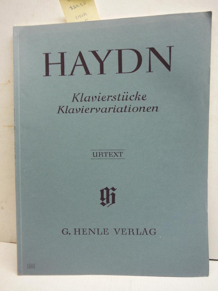 HAYDN - Piezas y Variaciones para Piano (Urtext)