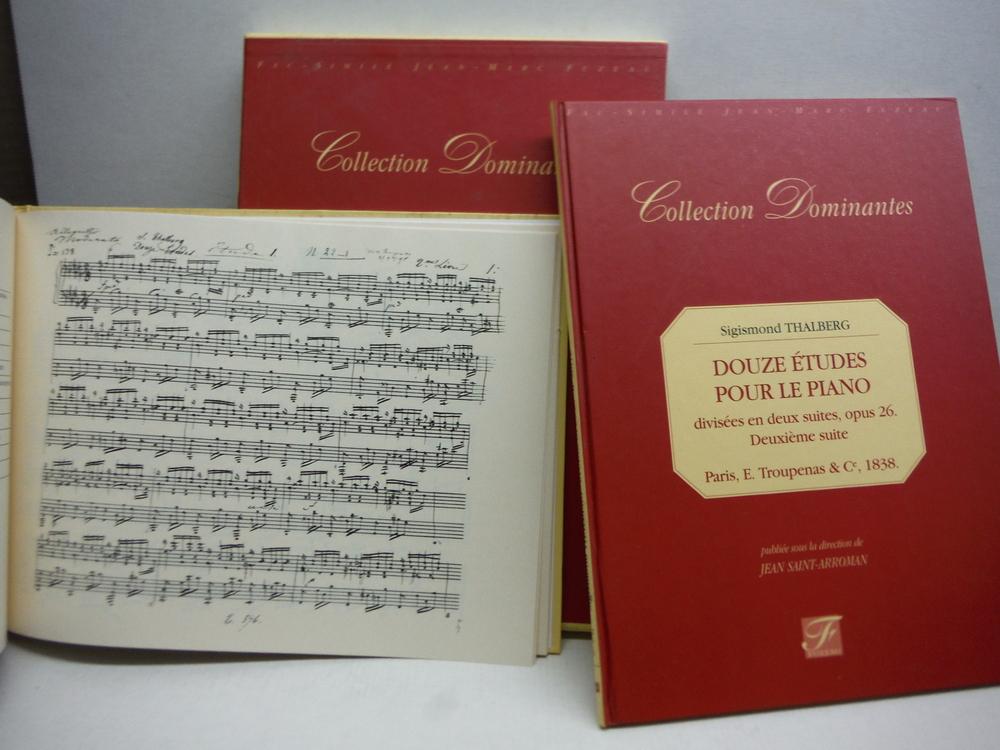 Douze etudes pour le piano. Opus 26 - 2eme suite - Paris, 1838 et manuscrit auto