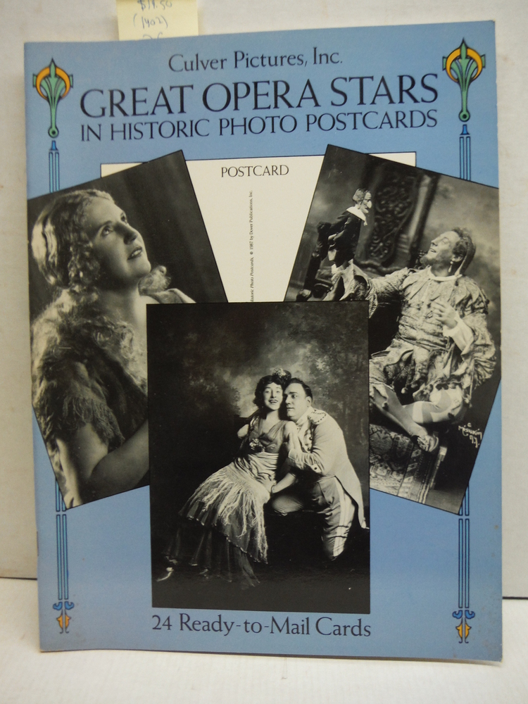 Great Opera Stars in Historic Photo Postcards: Ready-to-Mail Cards