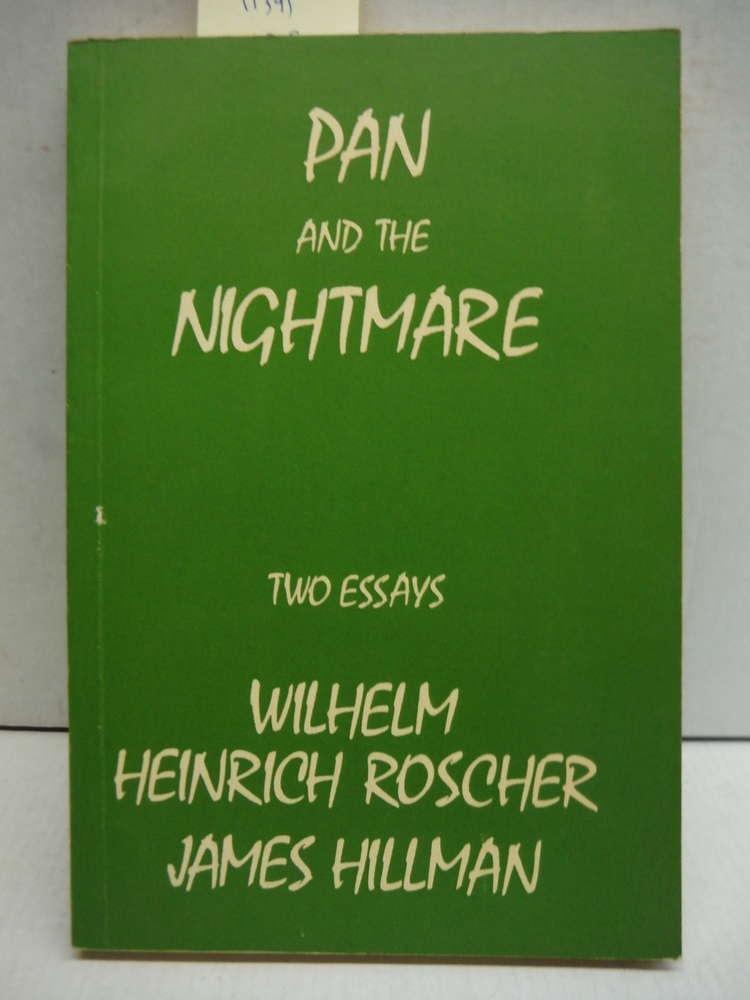 Pan and the Nightmare: being the only English Translation...
