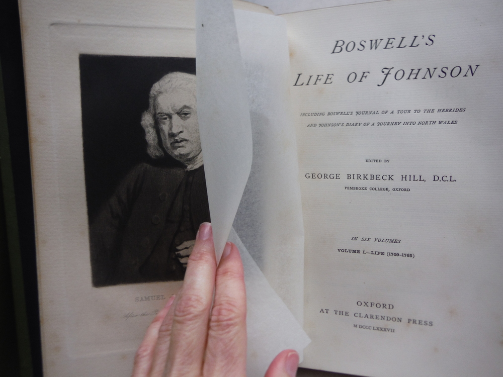 Image 2 of Boswell's Life of Johnson, including Boswell's Journal of a tour to the Hebrides