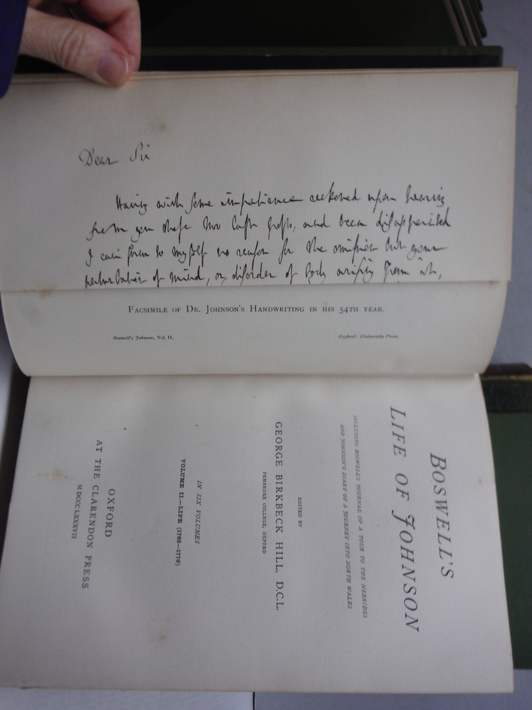 Image 4 of Boswell's Life of Johnson, including Boswell's Journal of a tour to the Hebrides